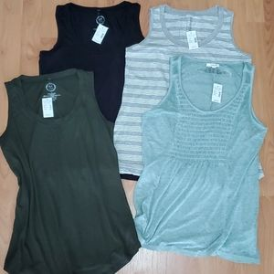 Maurice Lot of 4 Tank Tops Small